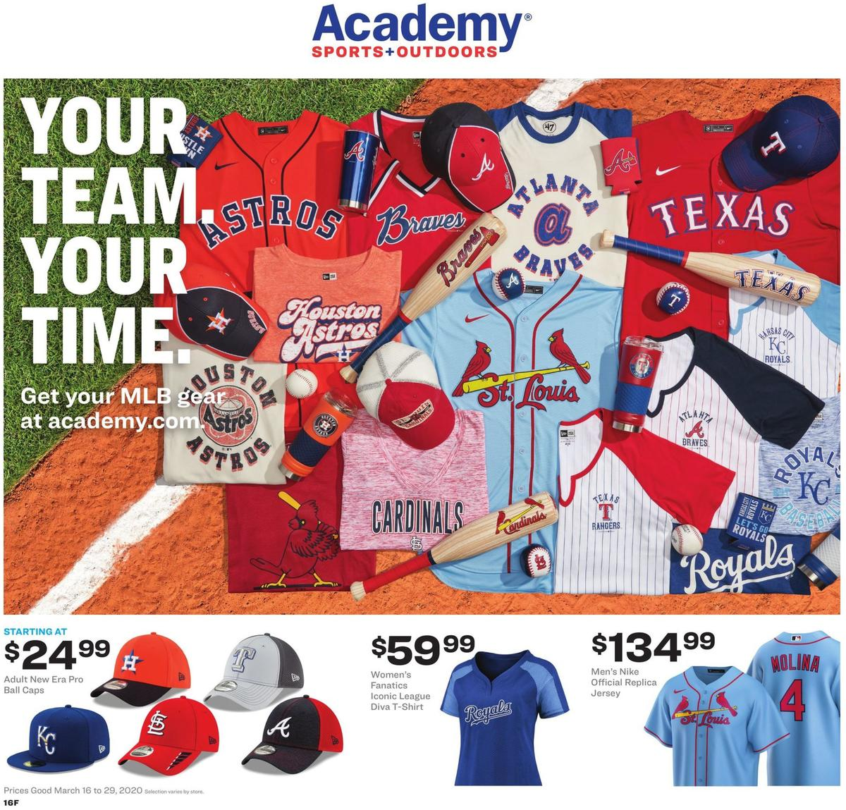 Academy Sports + Outdoors Weekly Ad from March 16