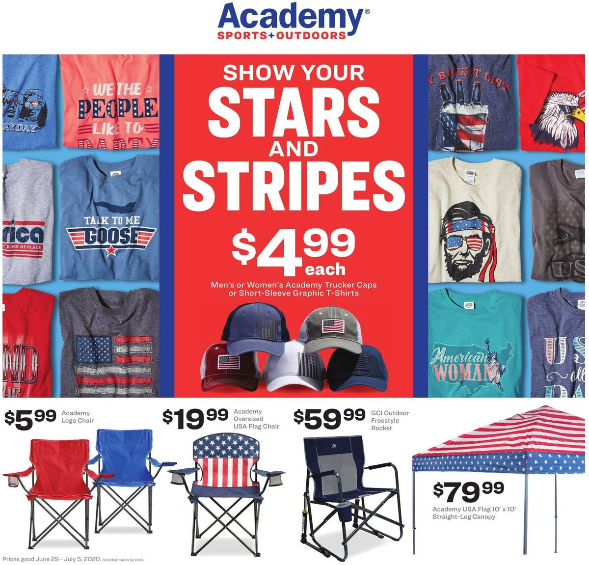 Academy Sports + Outdoors Weekly Ad from June 29