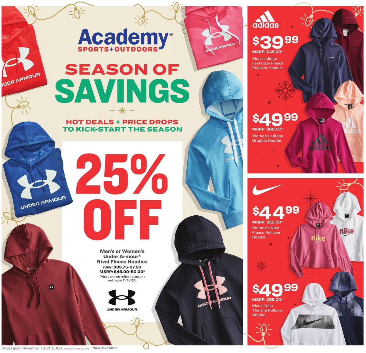 Academy Sports + Outdoors Weekly Ad from November 16