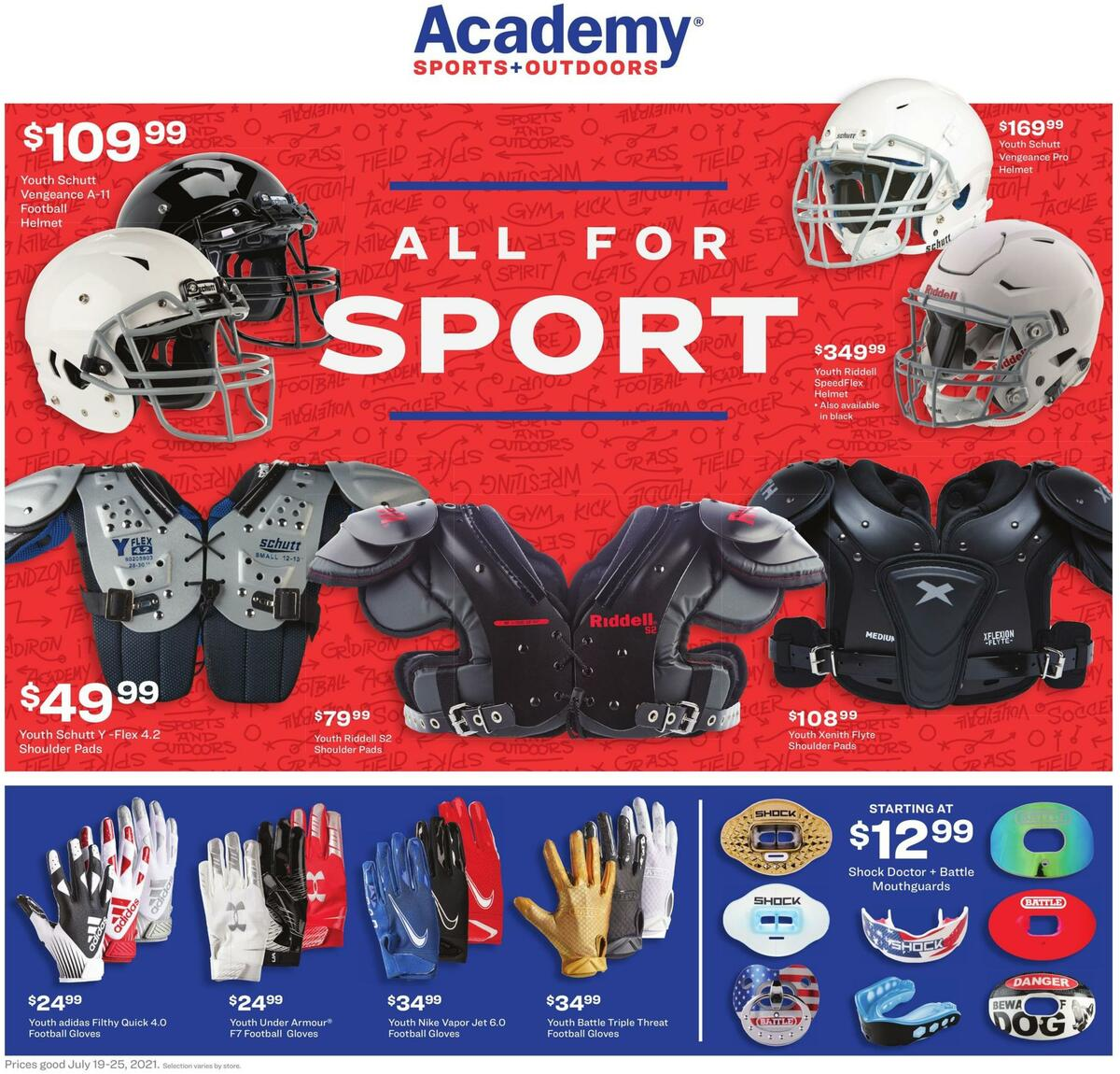 Academy Sports + Outdoors Weekly Ad from July 19
