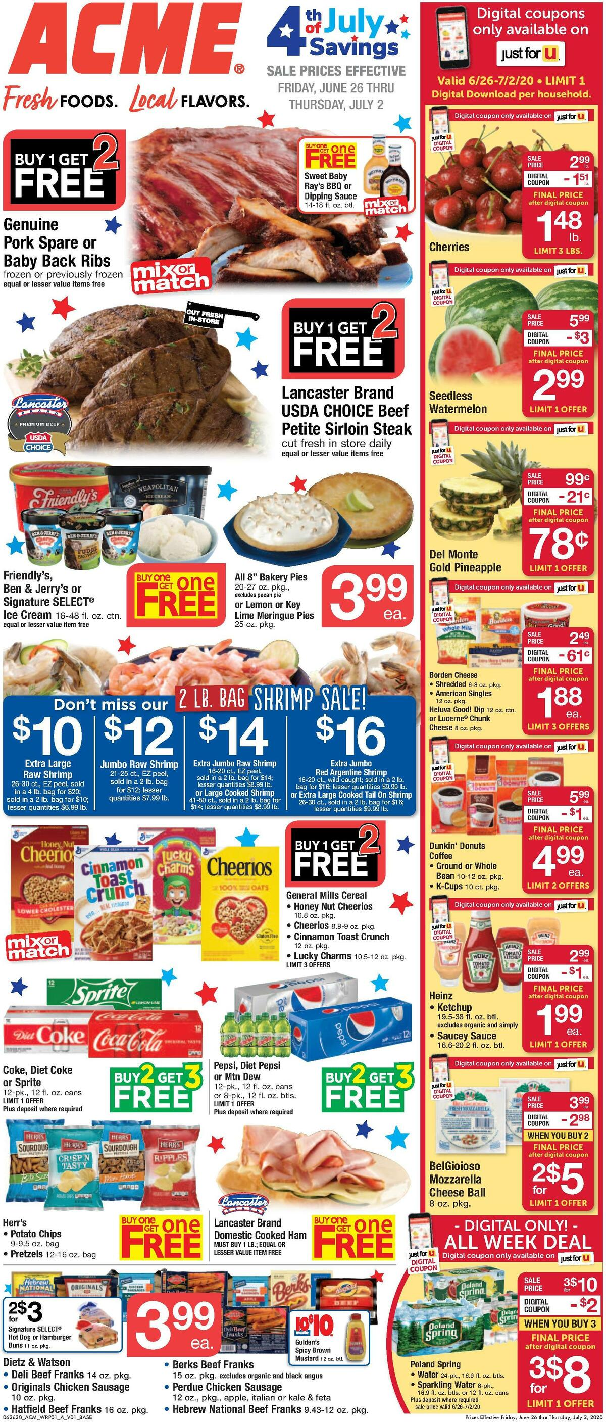 ACME Markets Weekly Ad from June 26