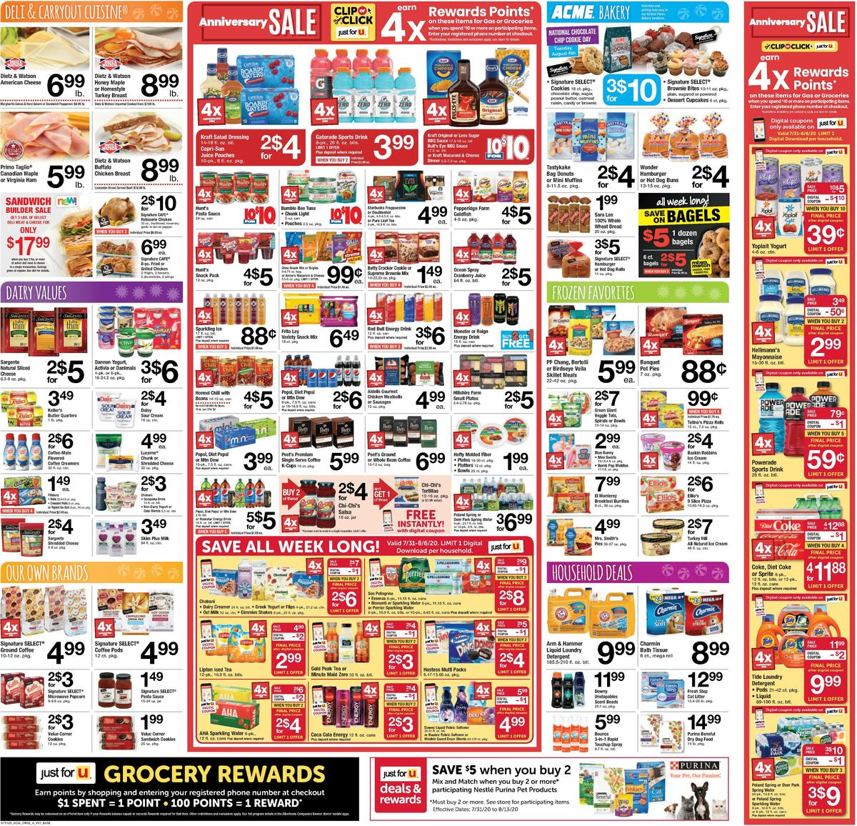 ACME Markets Weekly Ad from July 31