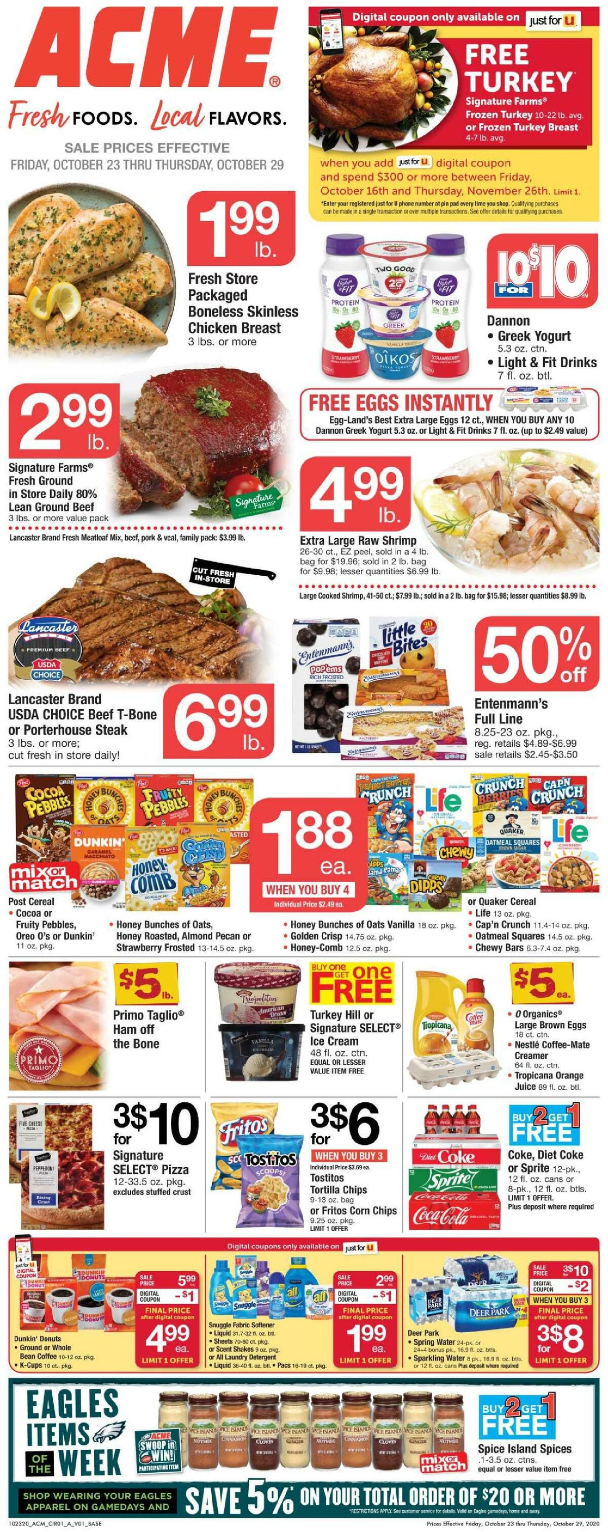 ACME Markets Weekly Ad from October 23