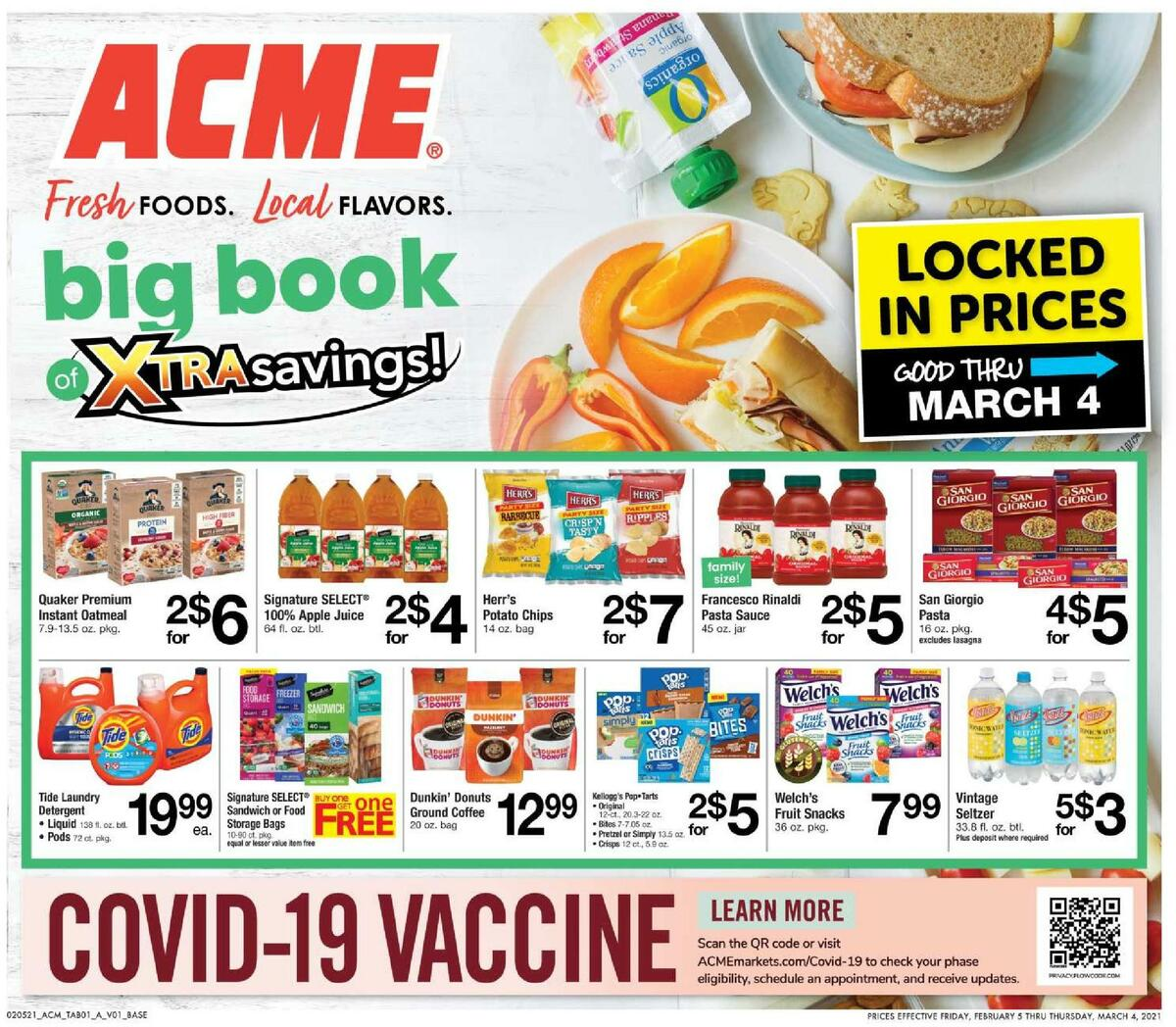 ACME Markets Big Book of Savings specials Weekly Ad from February 5