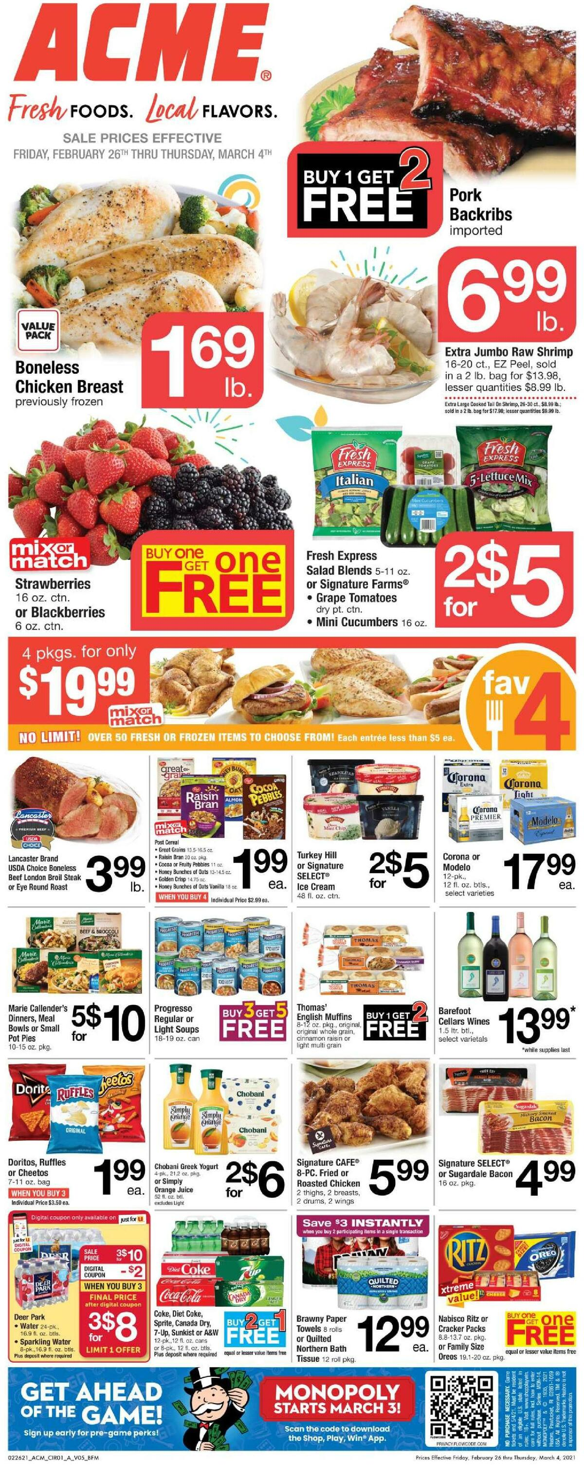 ACME Markets Weekly Ad from February 26
