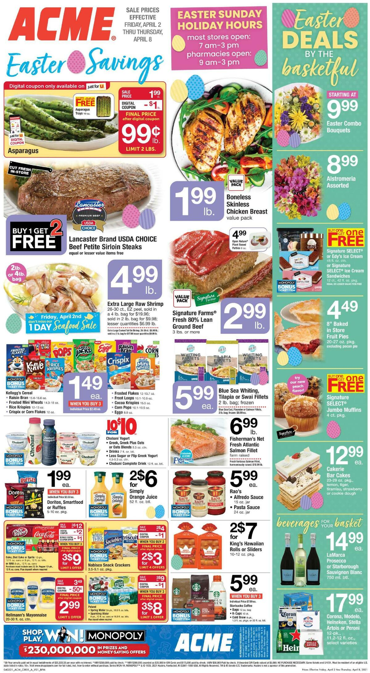 ACME Markets Weekly Ad from April 2
