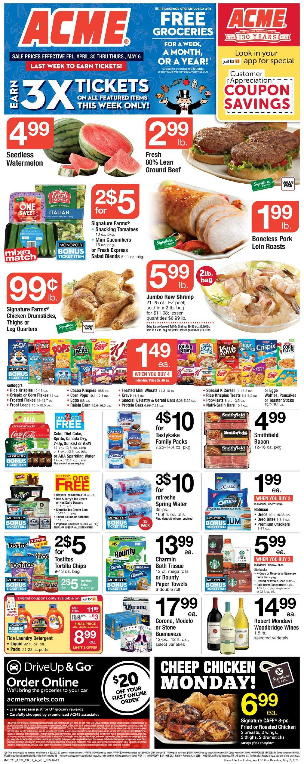 ACME Markets Weekly Ad from April 30