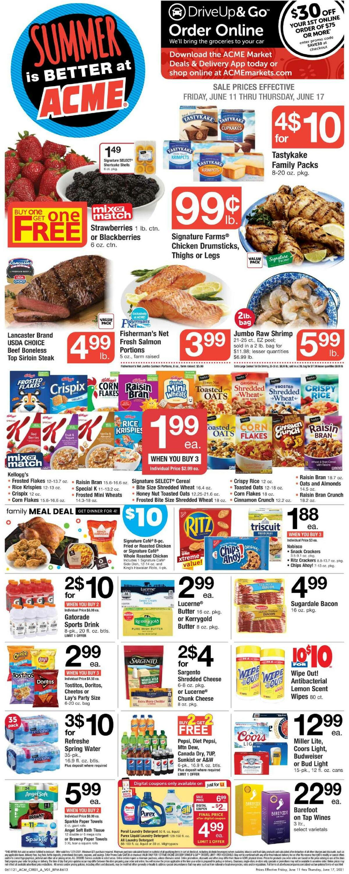 ACME Markets Weekly Ad from June 11