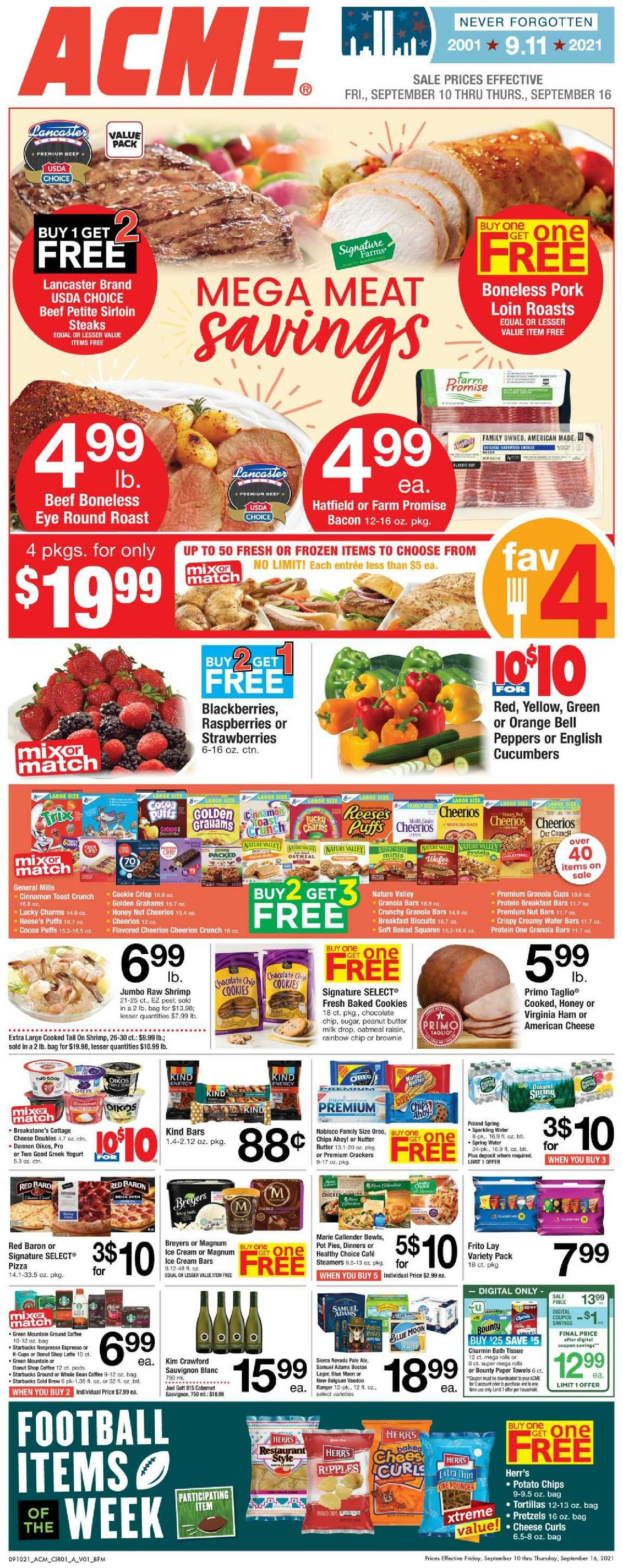 ACME Markets Weekly Ad from September 10