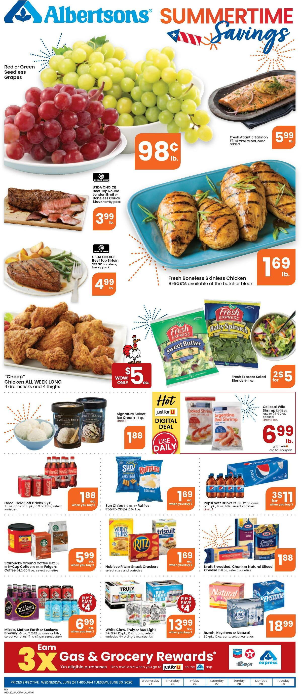 Albertsons Weekly Ad from June 24