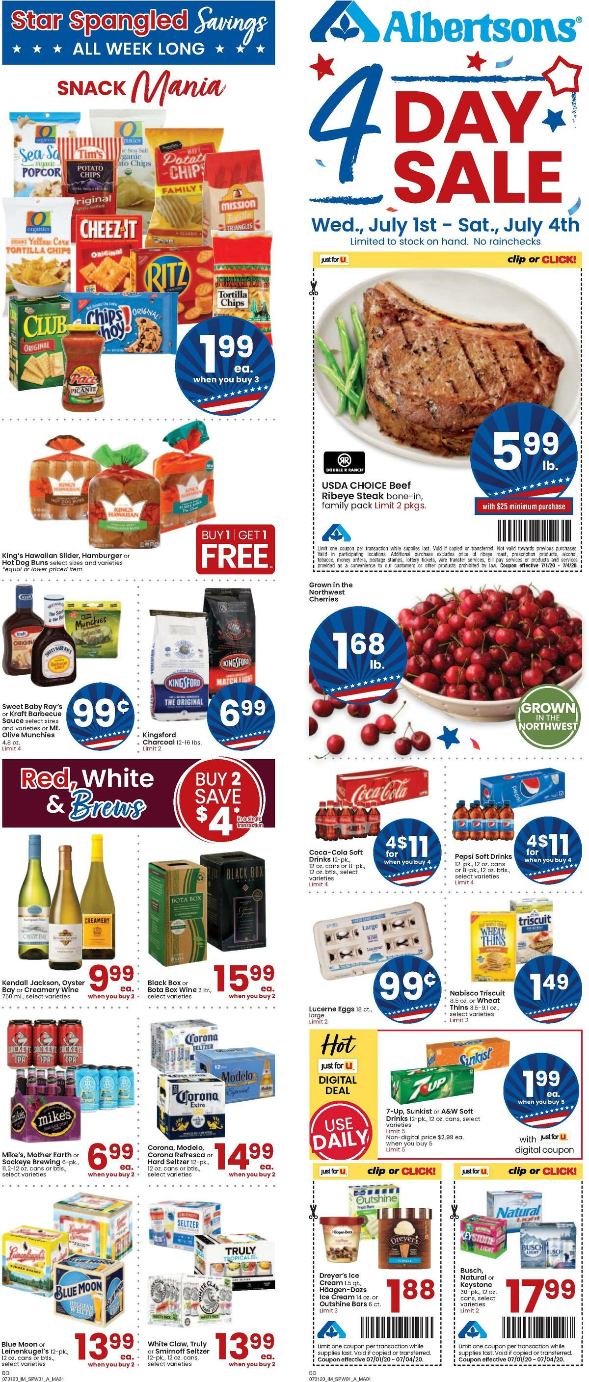 Albertsons Weekly Ad from July 1