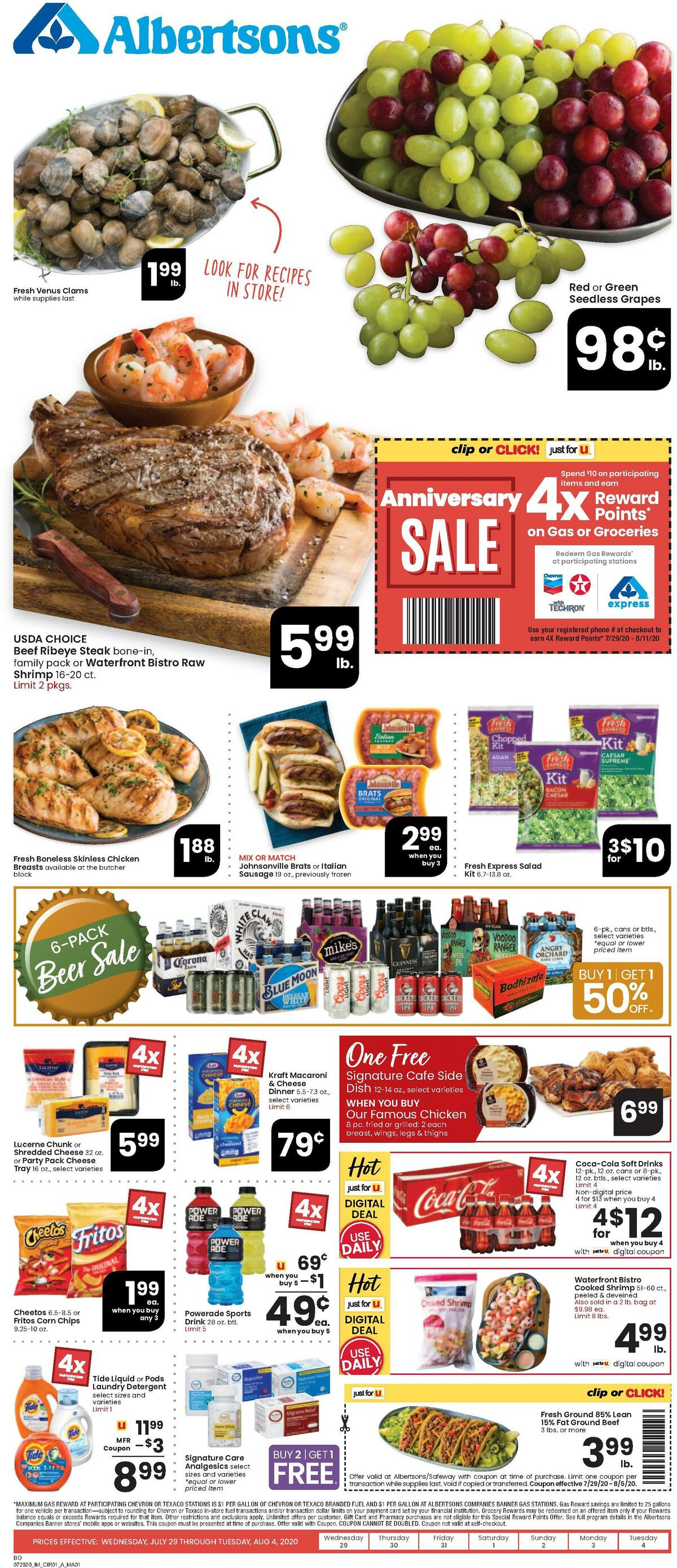 Albertsons Weekly Ad from July 29