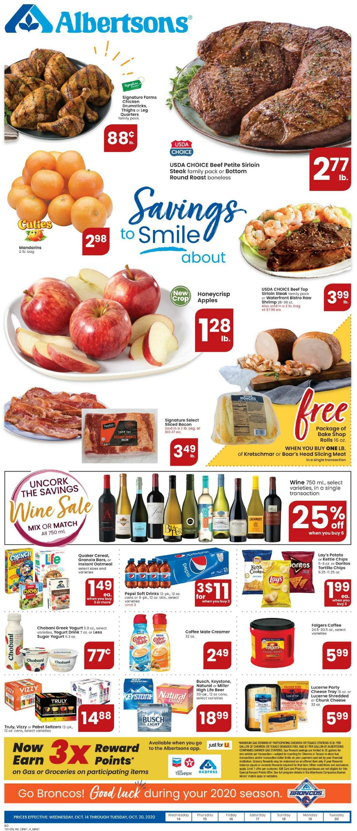 Albertsons Weekly Ad from October 14