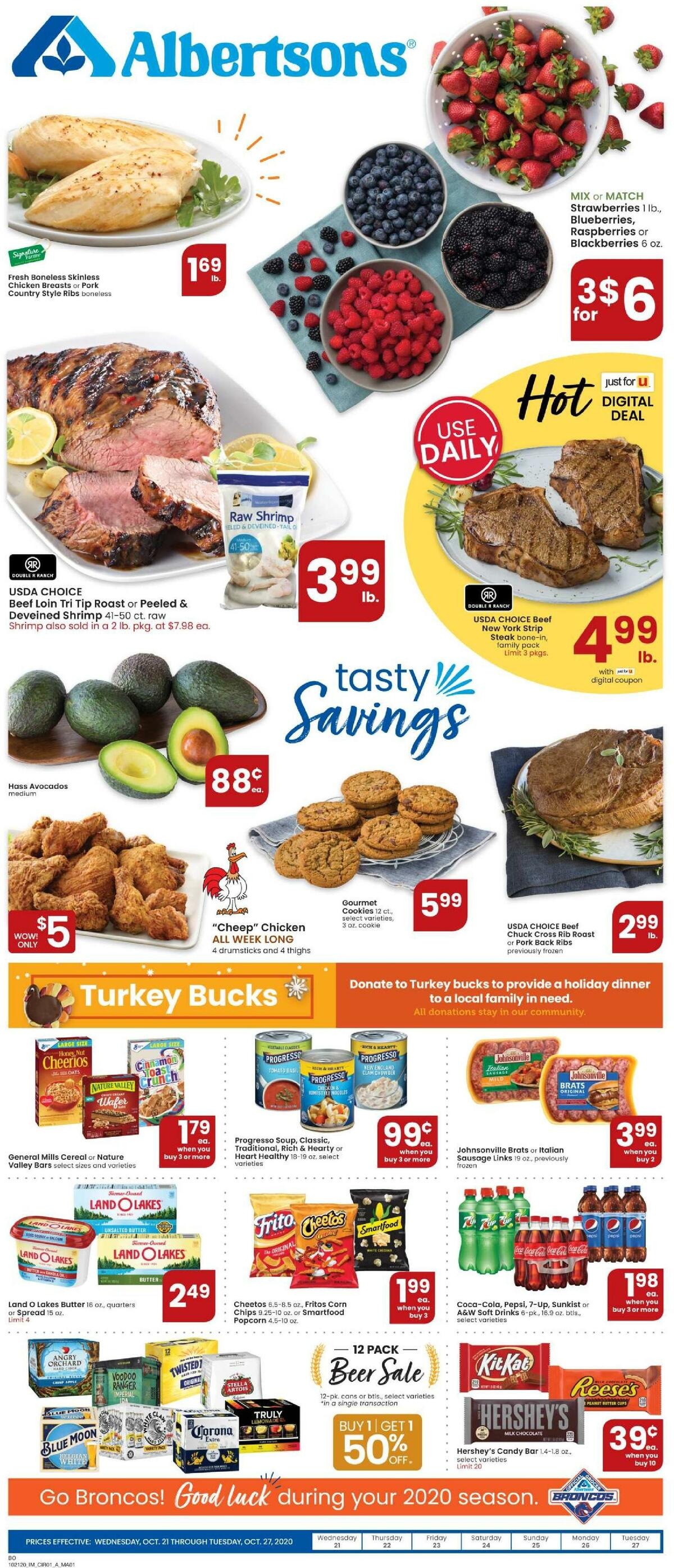 Albertsons Weekly Ad from October 21