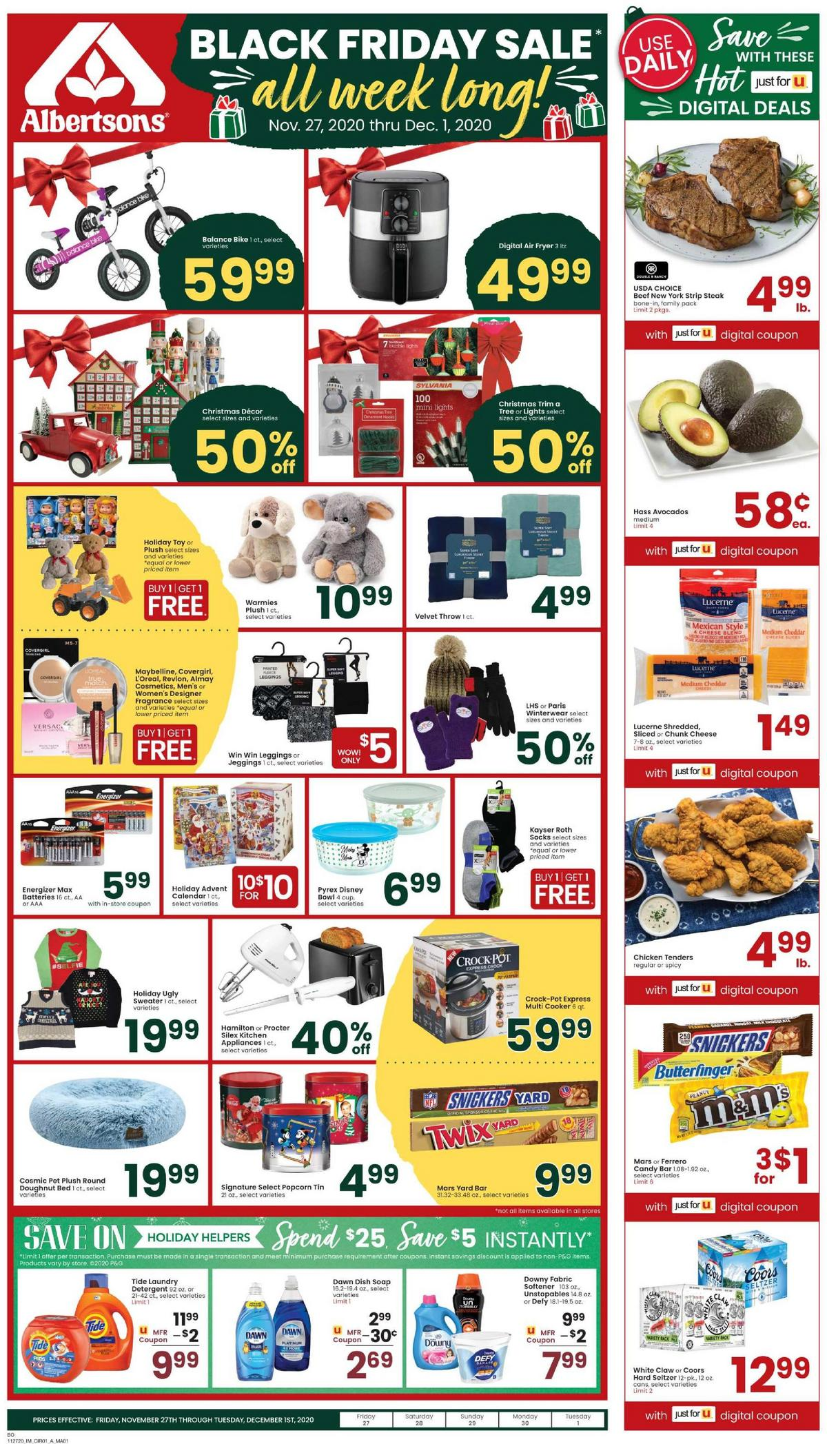 Albertsons Weekly Ad from November 25