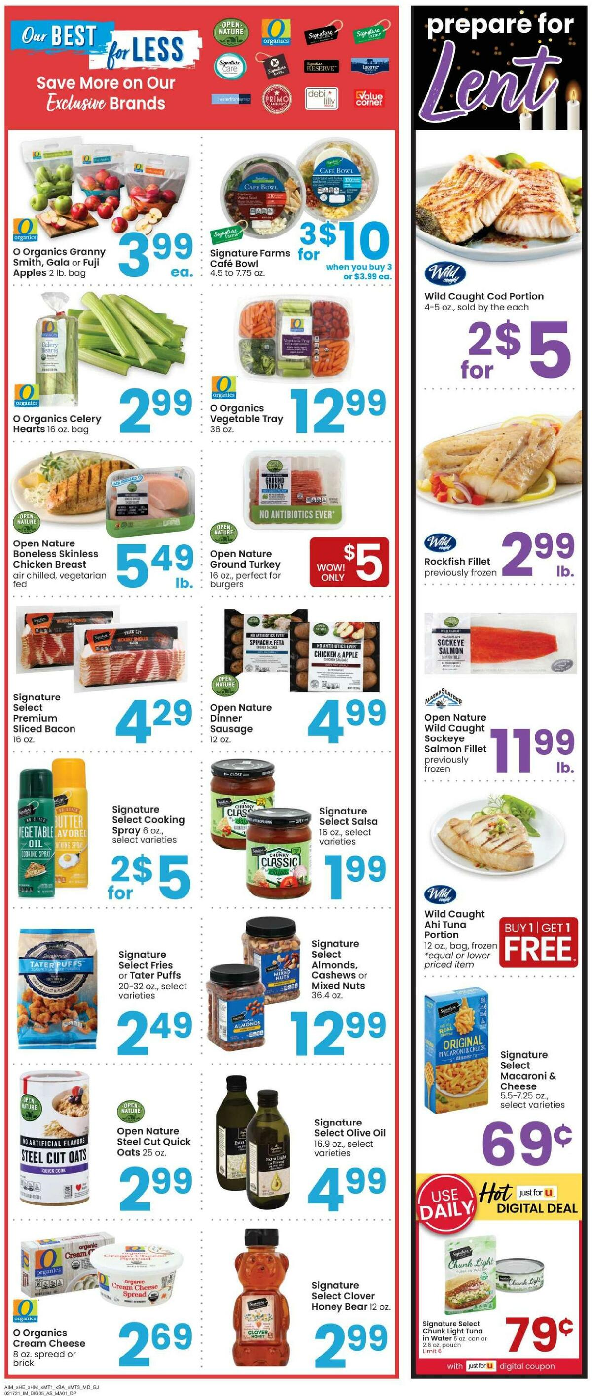Albertsons Weekly Ad from February 17