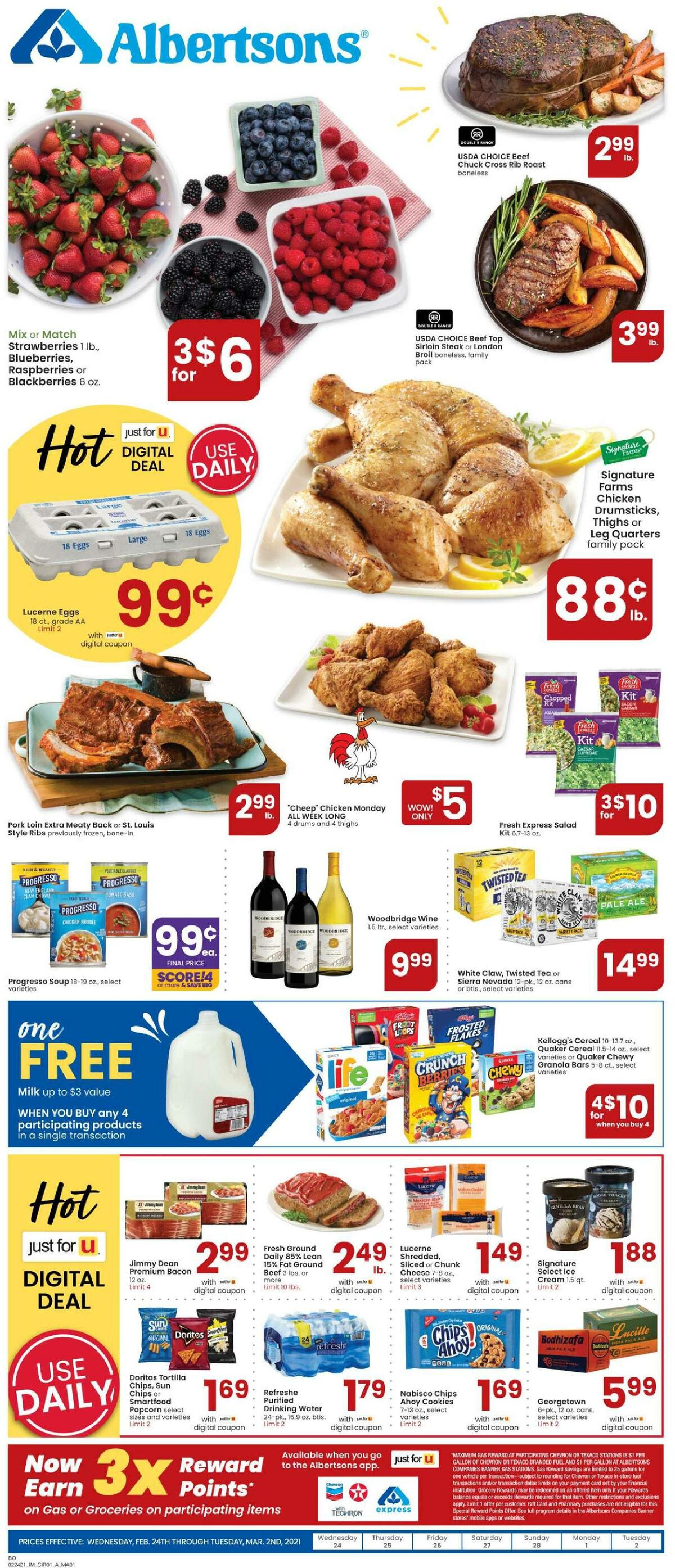 Albertsons Weekly Ad from February 24