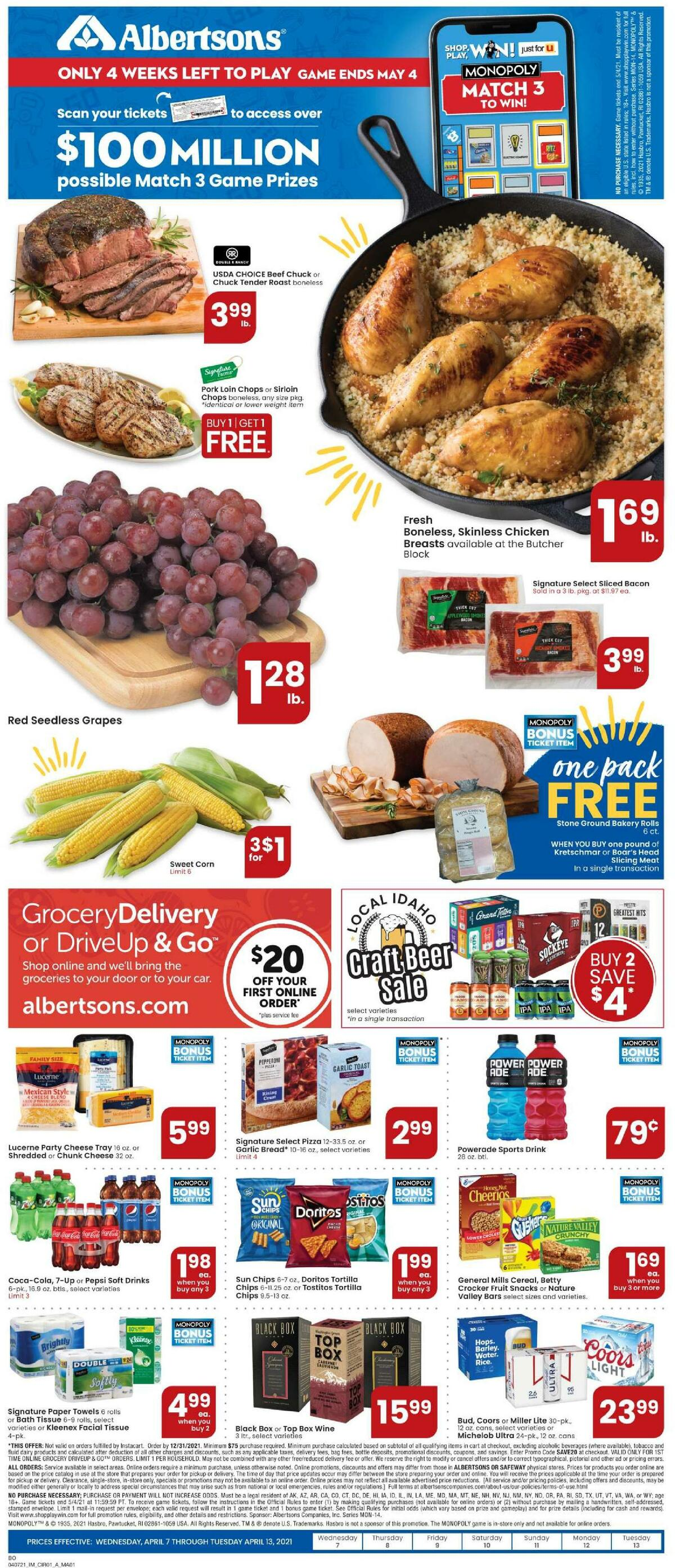 Albertsons Weekly Ad from April 7