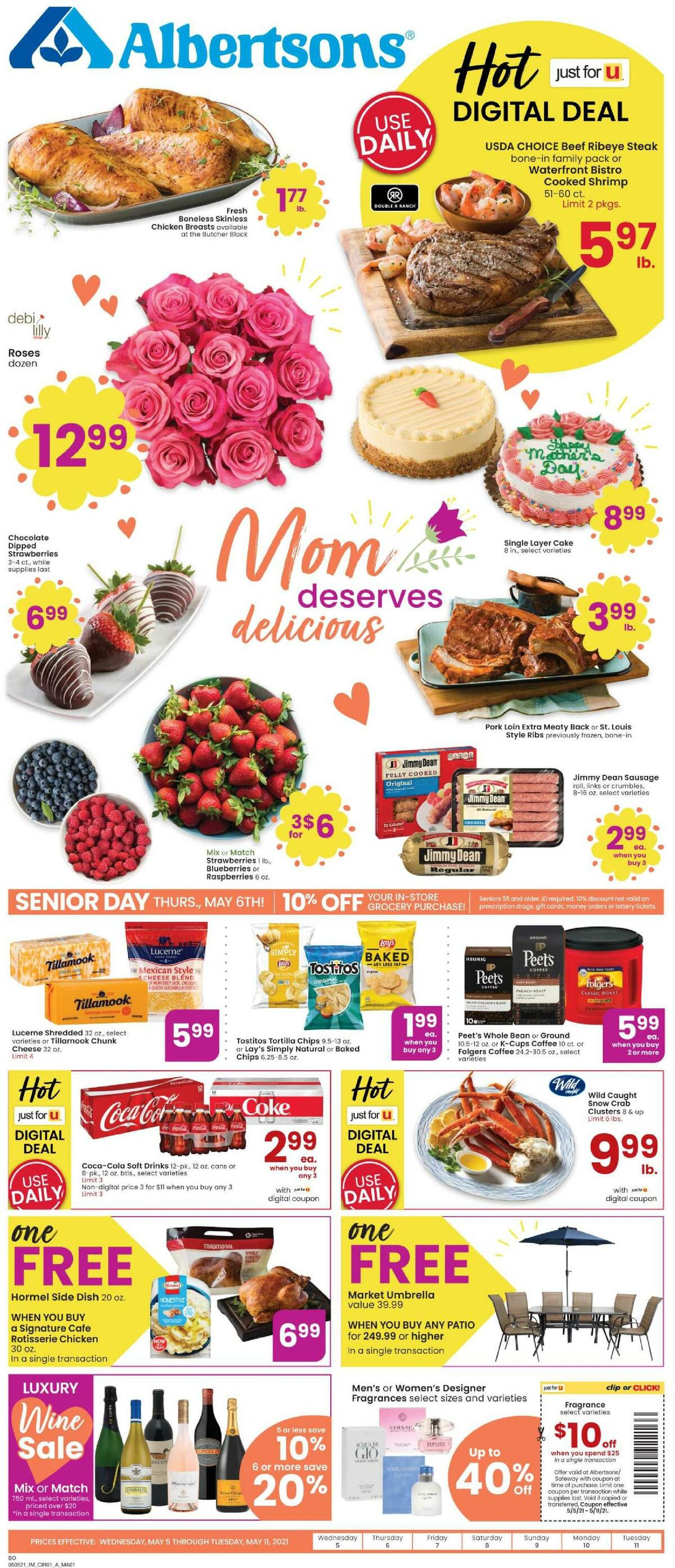 Albertsons Weekly Ad from May 5