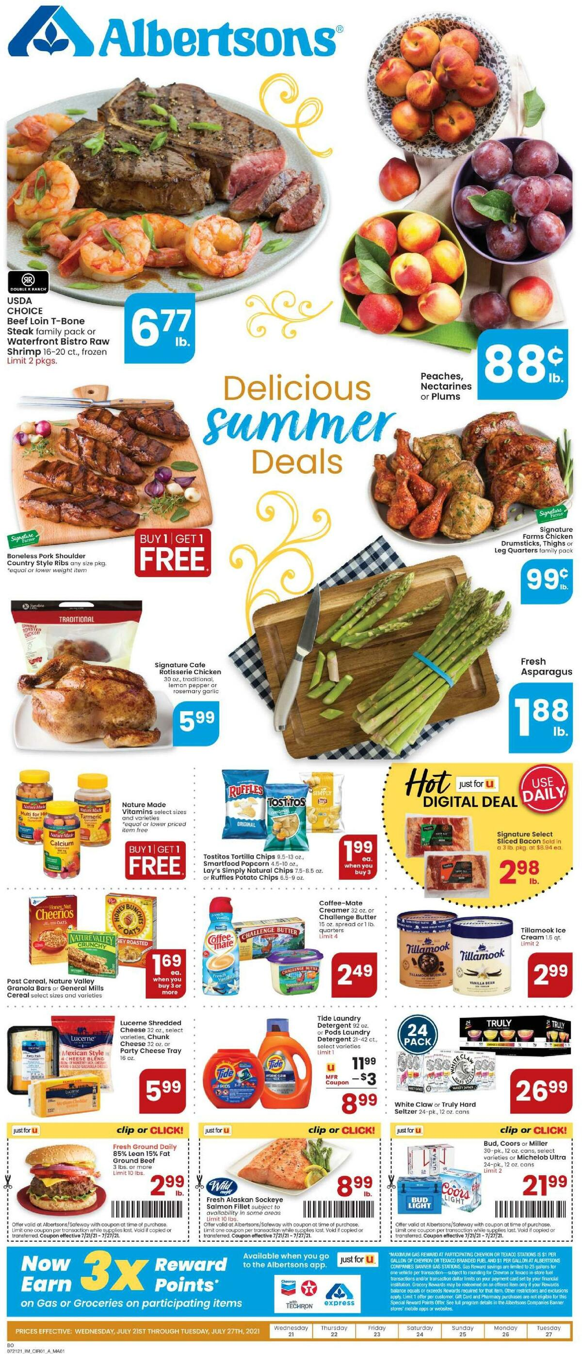 Albertsons Weekly Ad from July 21