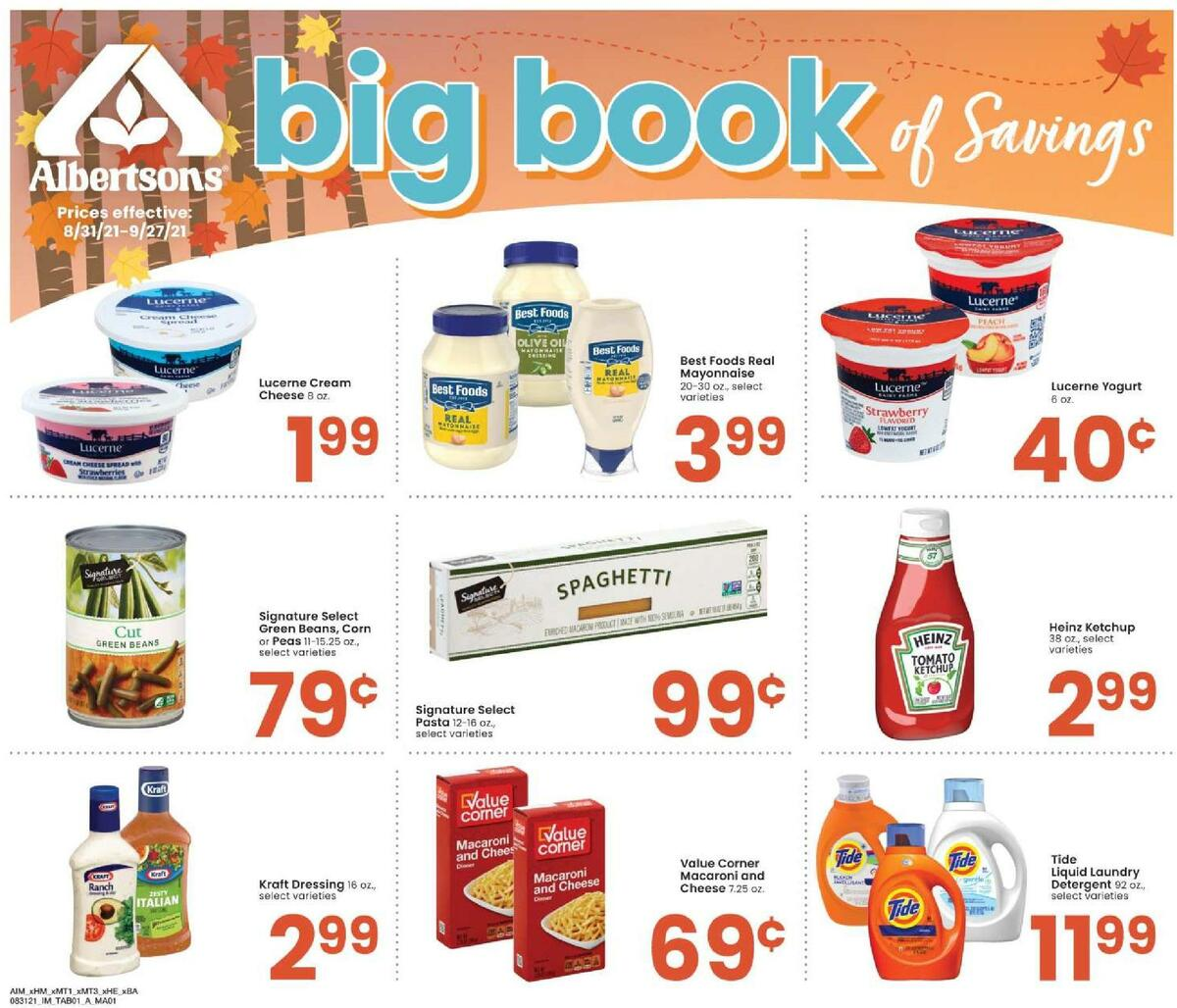 Albertsons Weekly Ad from August 31