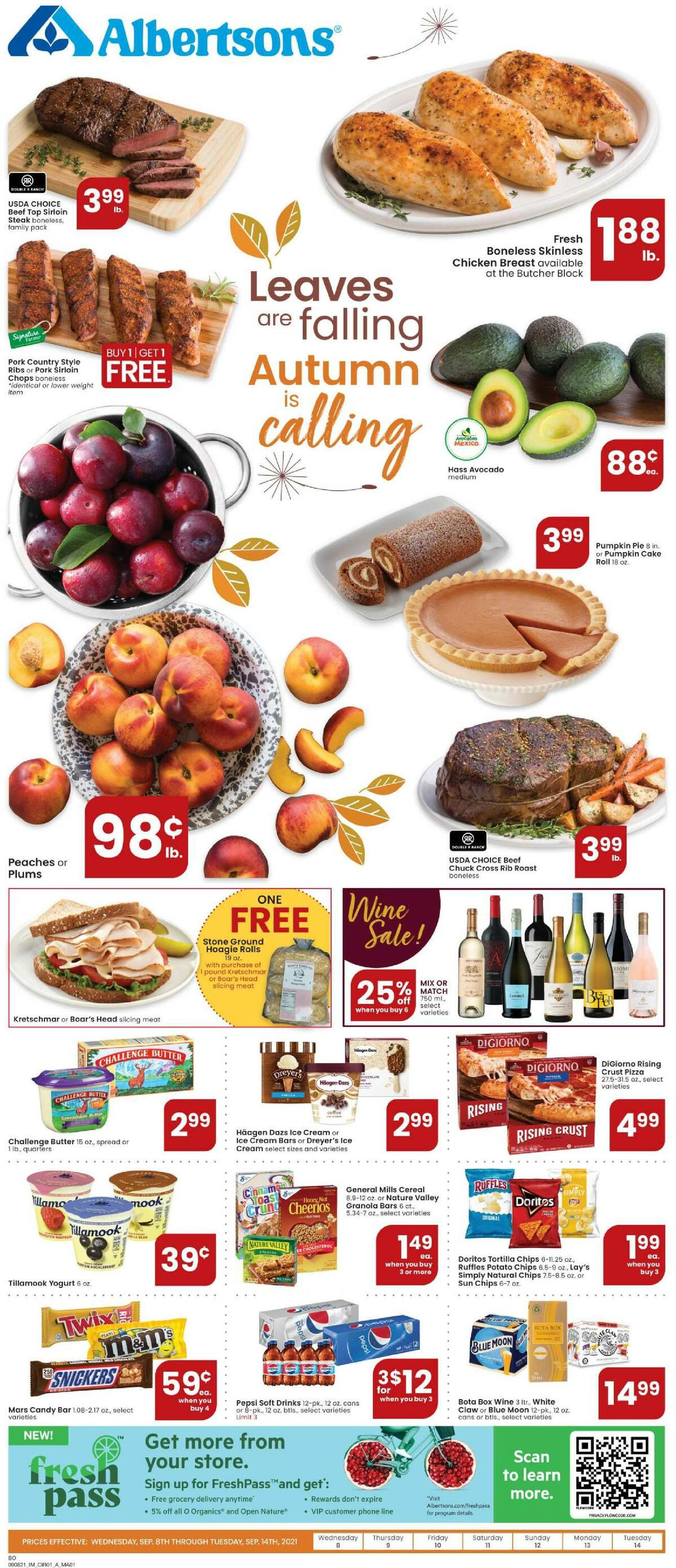 Albertsons Weekly Ad from September 8