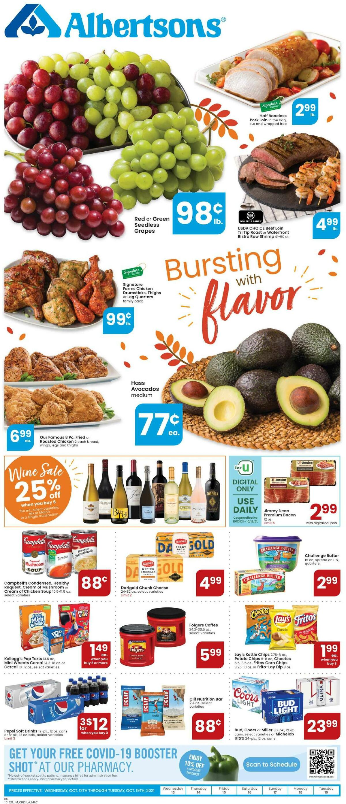 Albertsons Weekly Ad from October 13