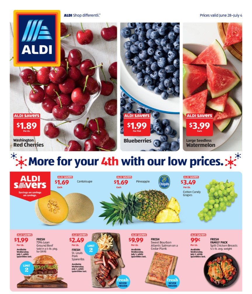 ALDI Weekly Ad from June 28