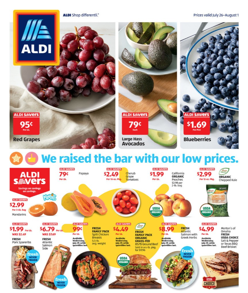 ALDI Weekly Ad from July 26