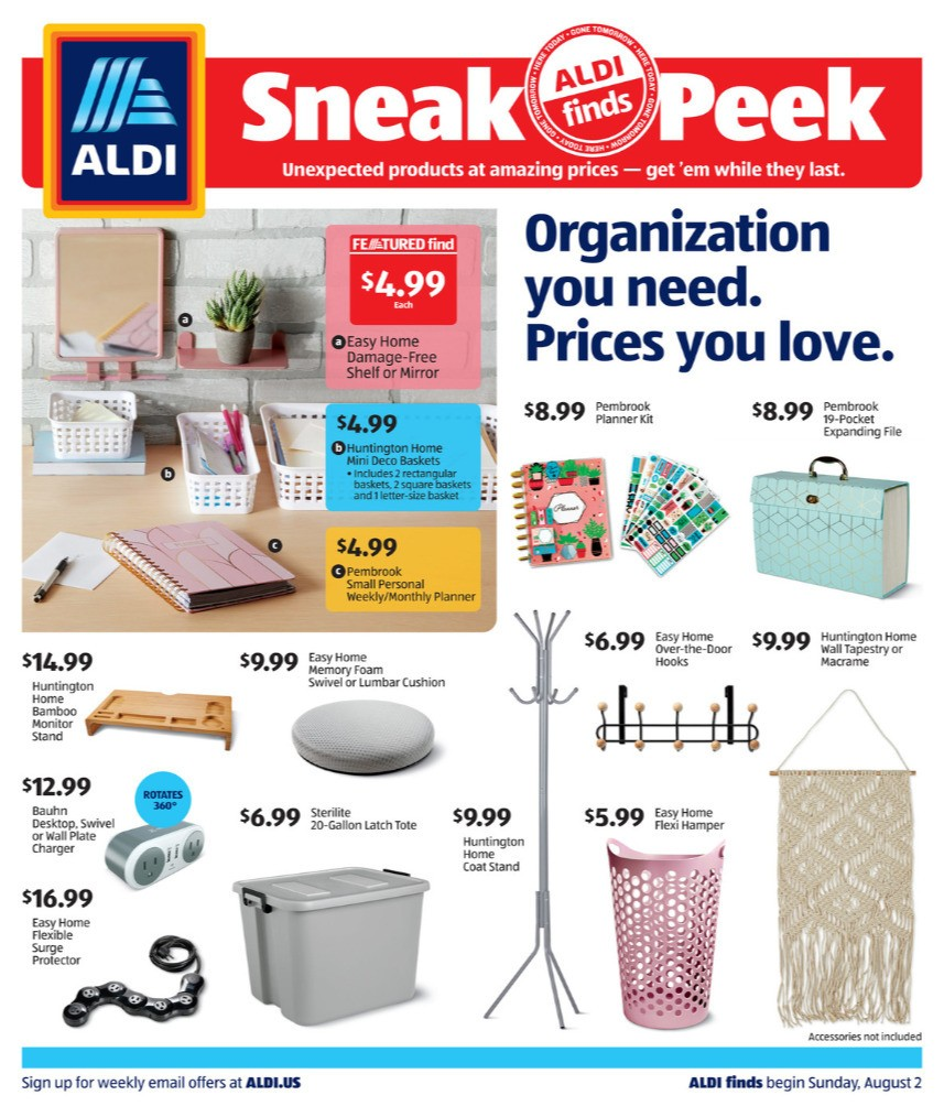 ALDI In Store Ad Weekly Ad from August 2