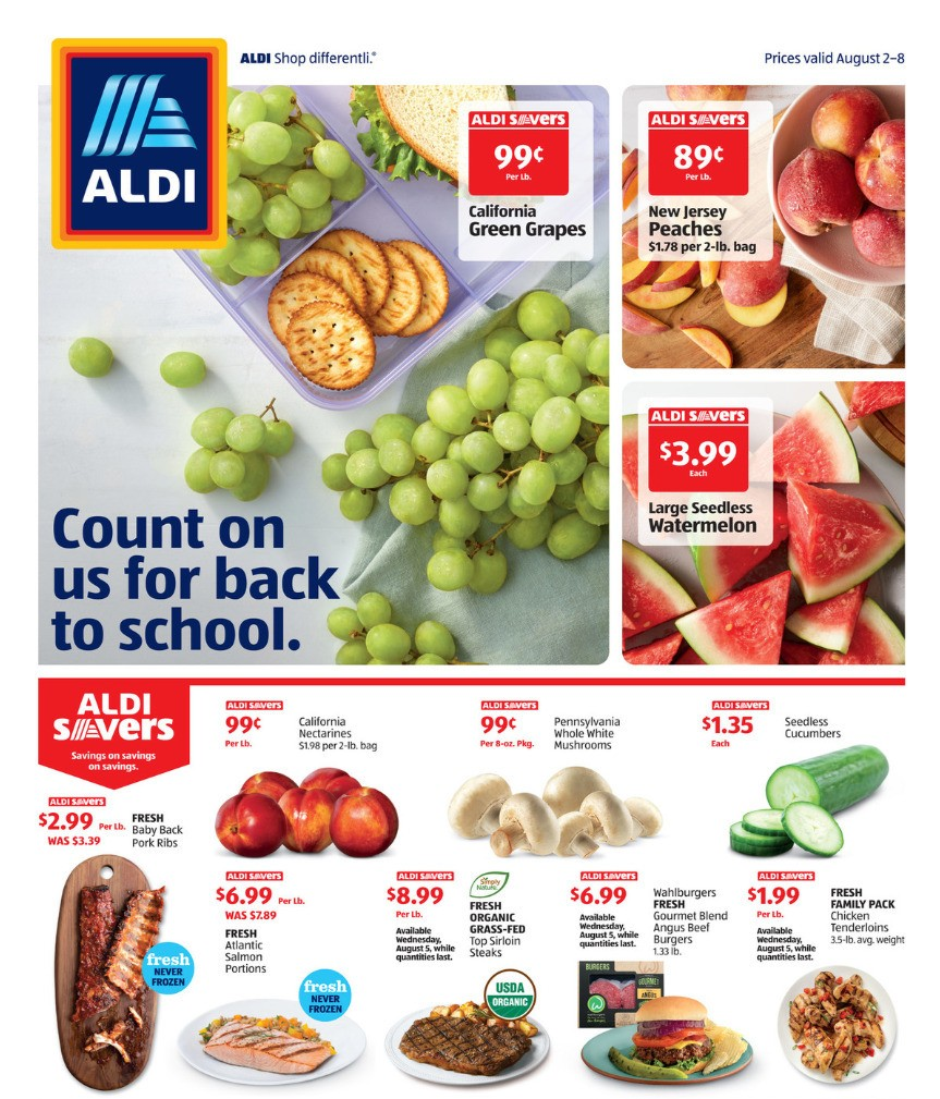 ALDI Weekly Ad from August 2