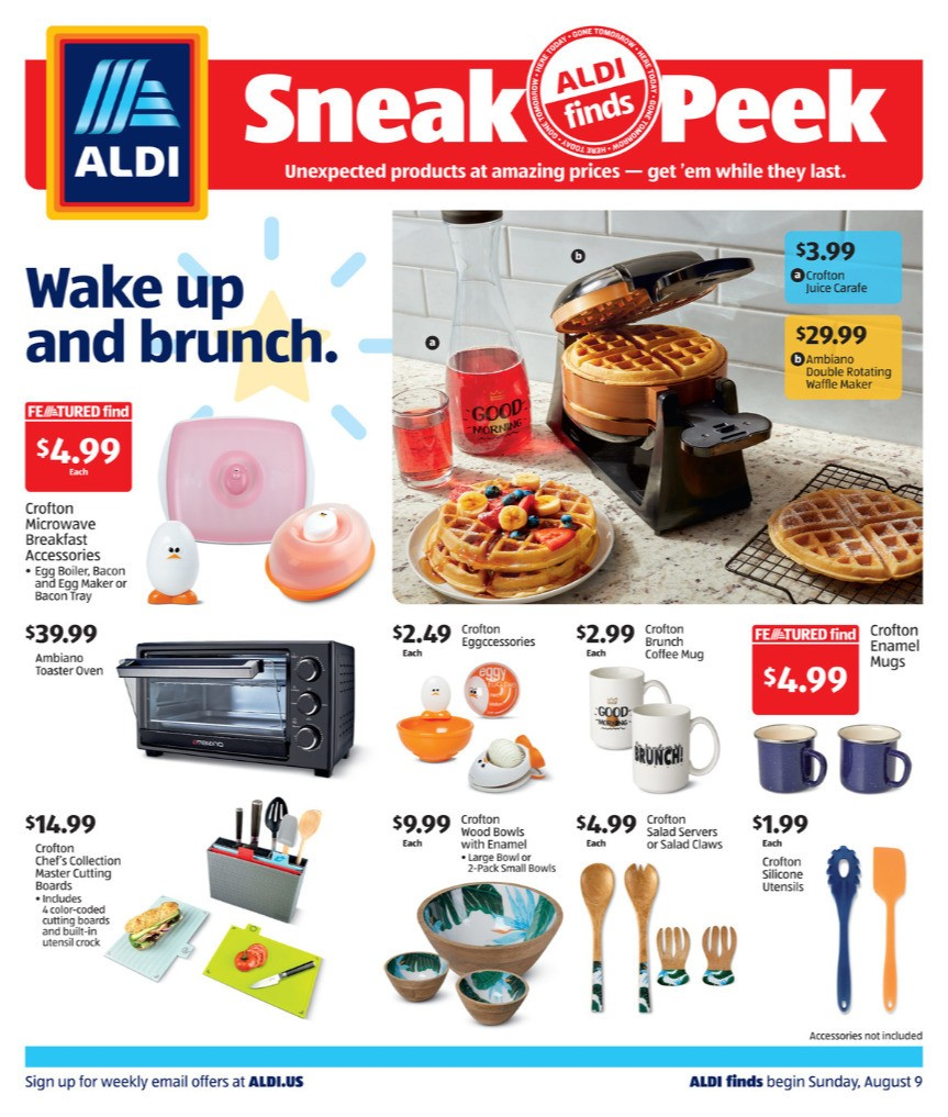 ALDI In Store Ad Weekly Ad from August 9