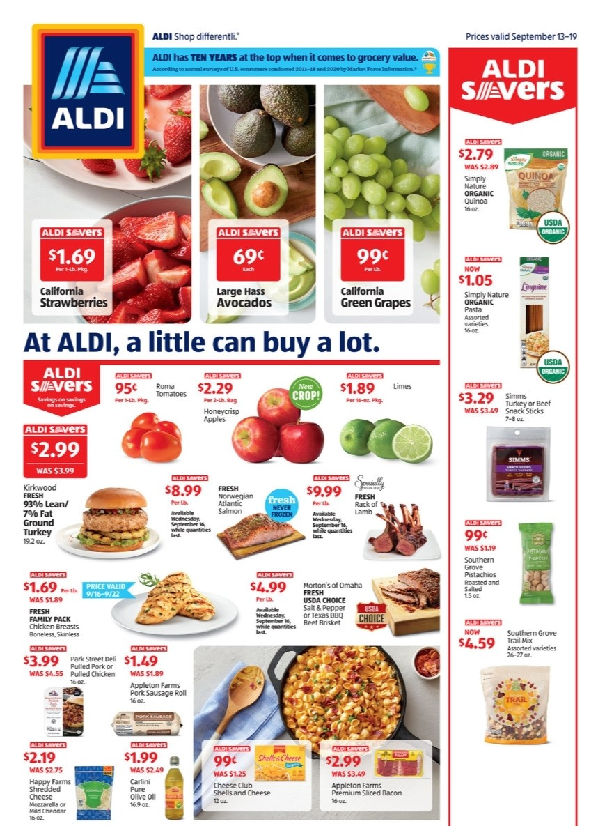 ALDI Weekly Ad from September 13