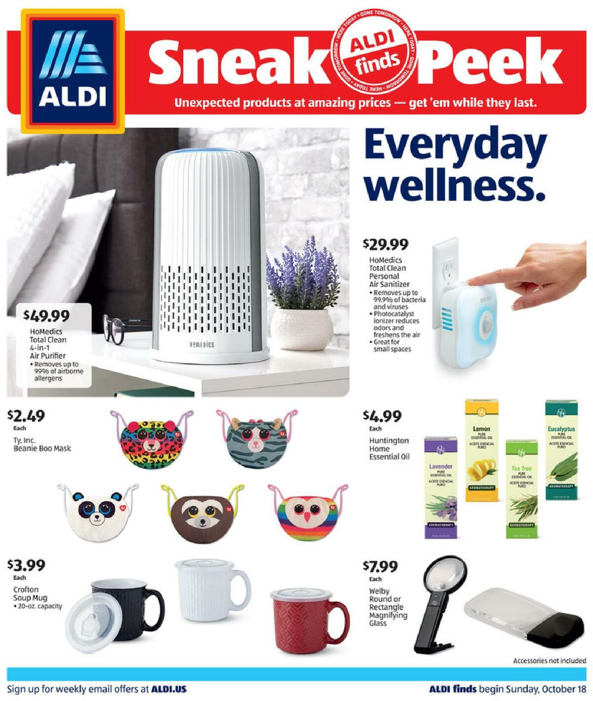 ALDI In Store Ad Weekly Ad from October 18