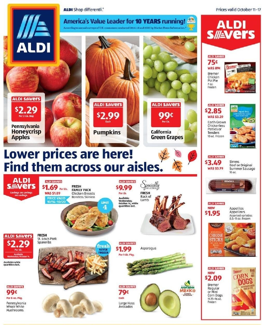 ALDI Weekly Ad from October 11