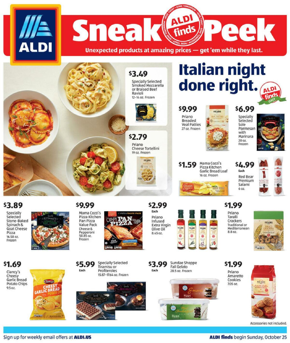 ALDI In Store Ad Weekly Ad from October 25