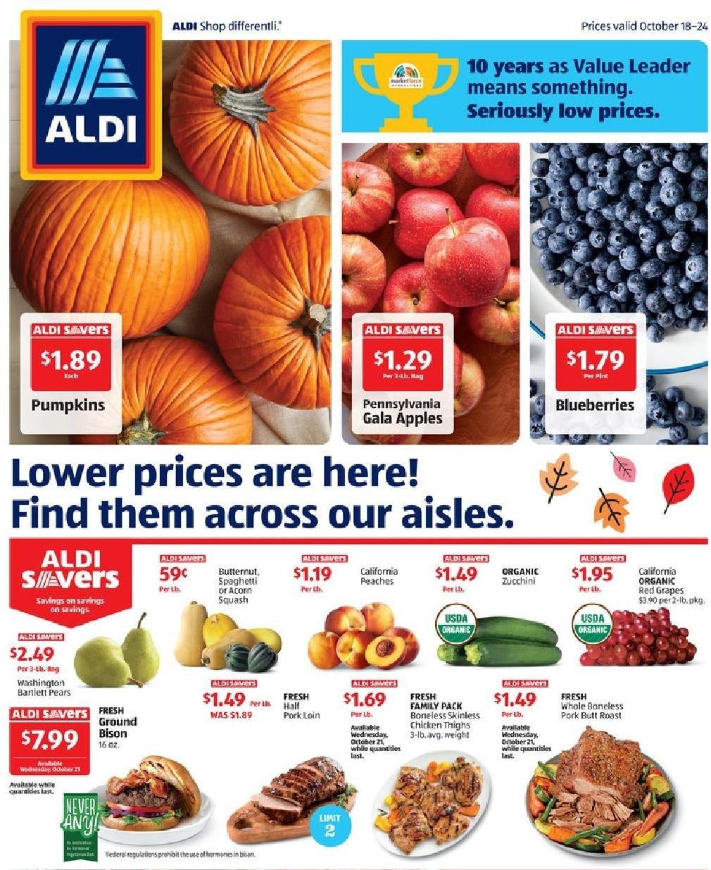 ALDI Weekly Ad from October 18