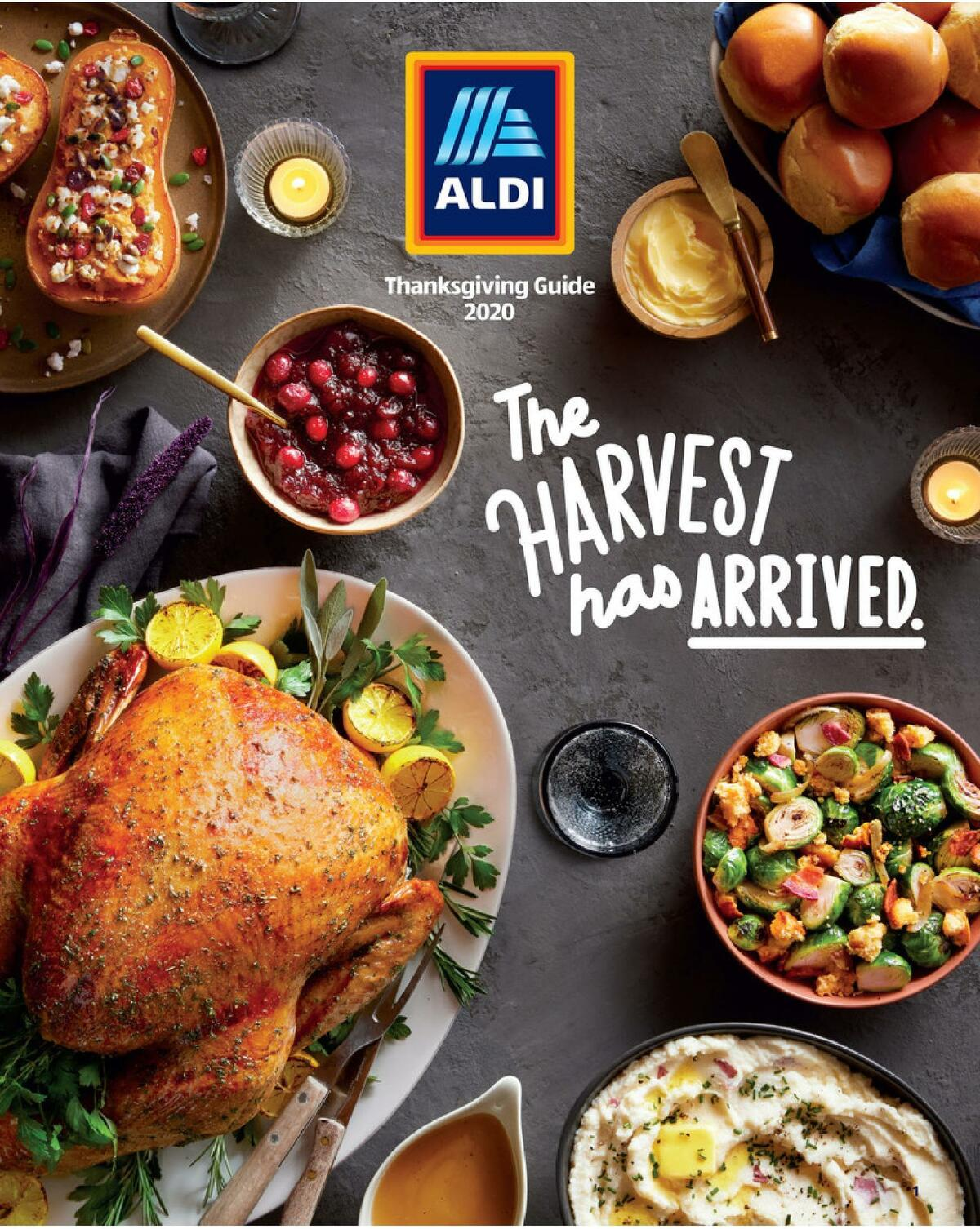 ALDI Thanksgiving Catalog Weekly Ad from October 21