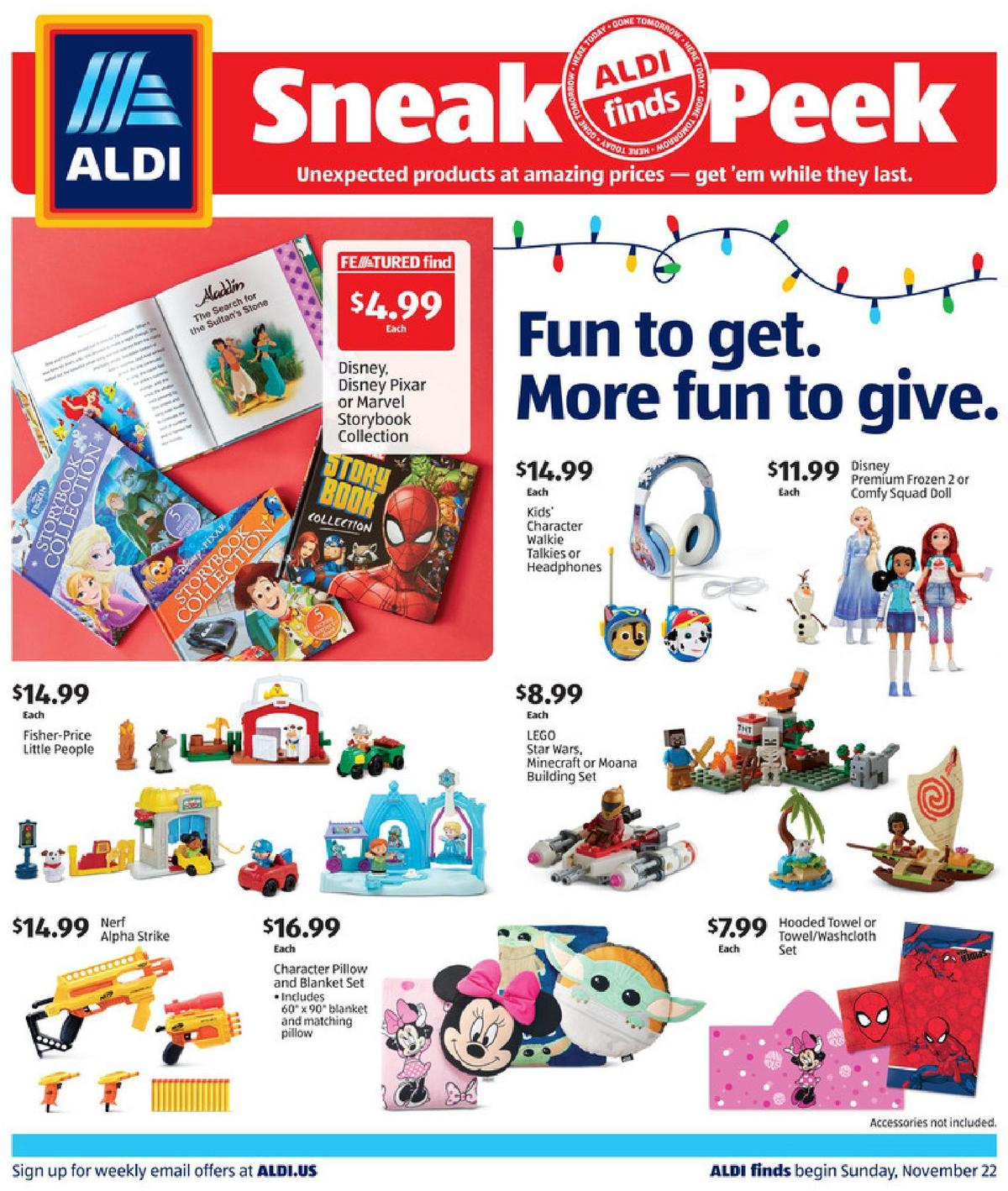 ALDI In Store Ad Weekly Ad from November 22