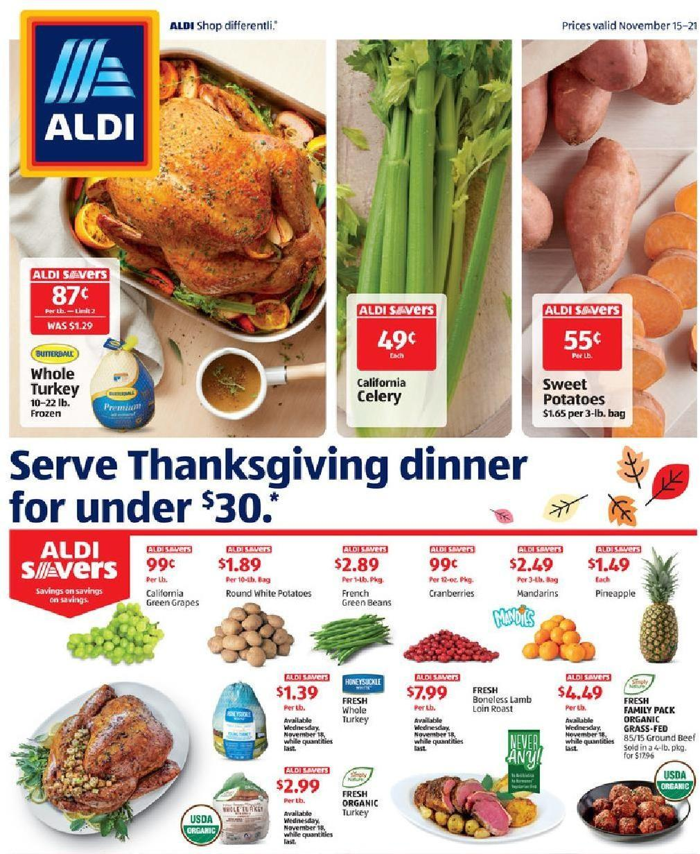 ALDI Weekly Ad from November 15