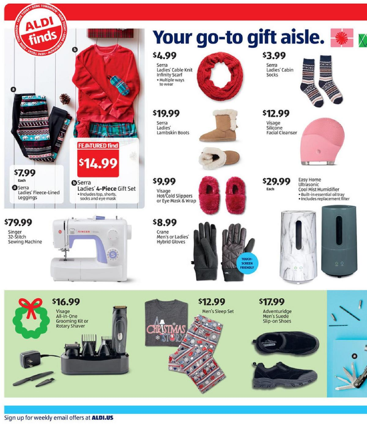 ALDI In Store Ad Weekly Ad from November 29