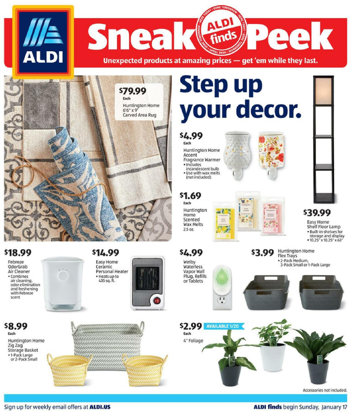ALDI In Store Ad Weekly Ad from January 17
