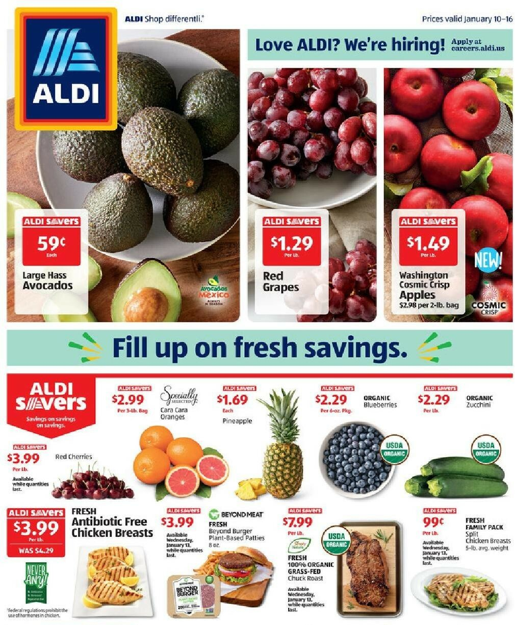 ALDI Weekly Ad from January 10
