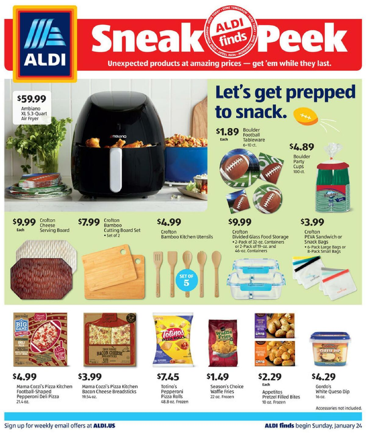 ALDI In Store Ad Weekly Ad from January 24
