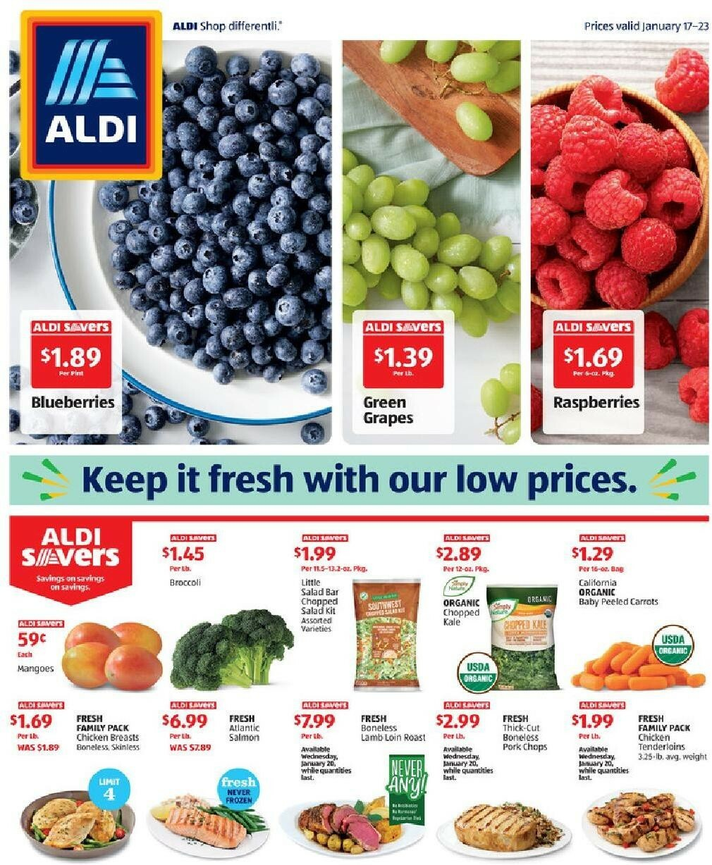 ALDI Weekly Ad from January 17