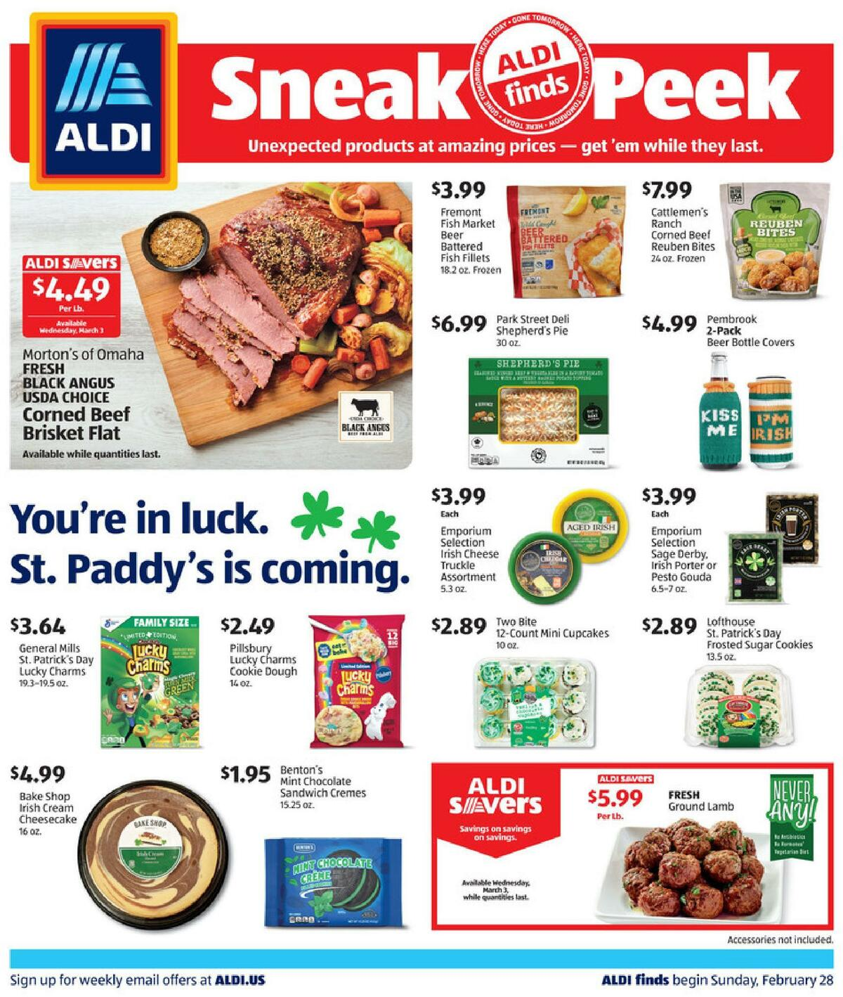 ALDI In Store Ad Weekly Ad from February 28