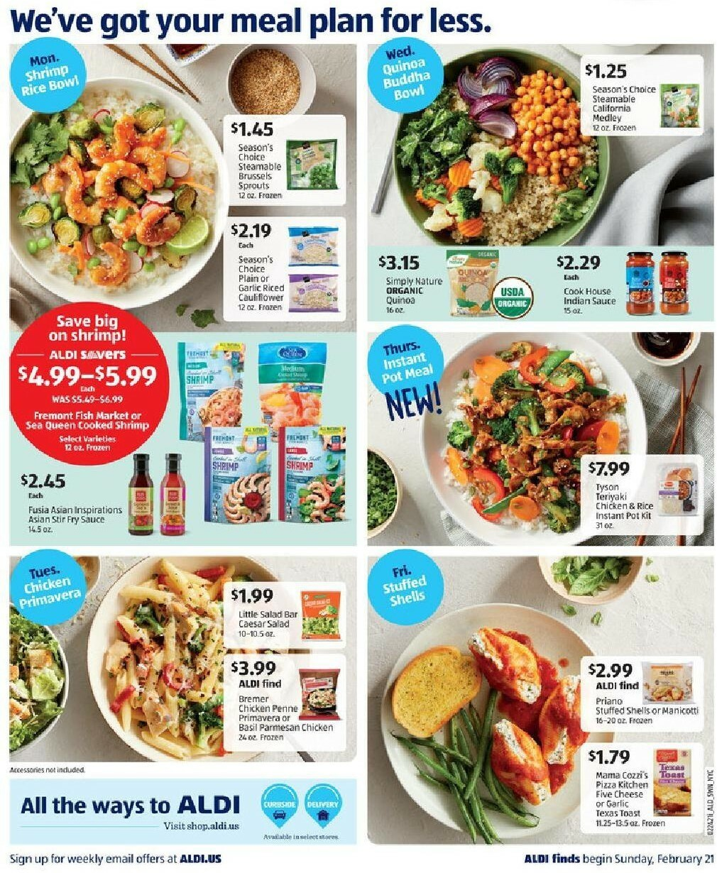 ALDI Weekly Ad from February 21