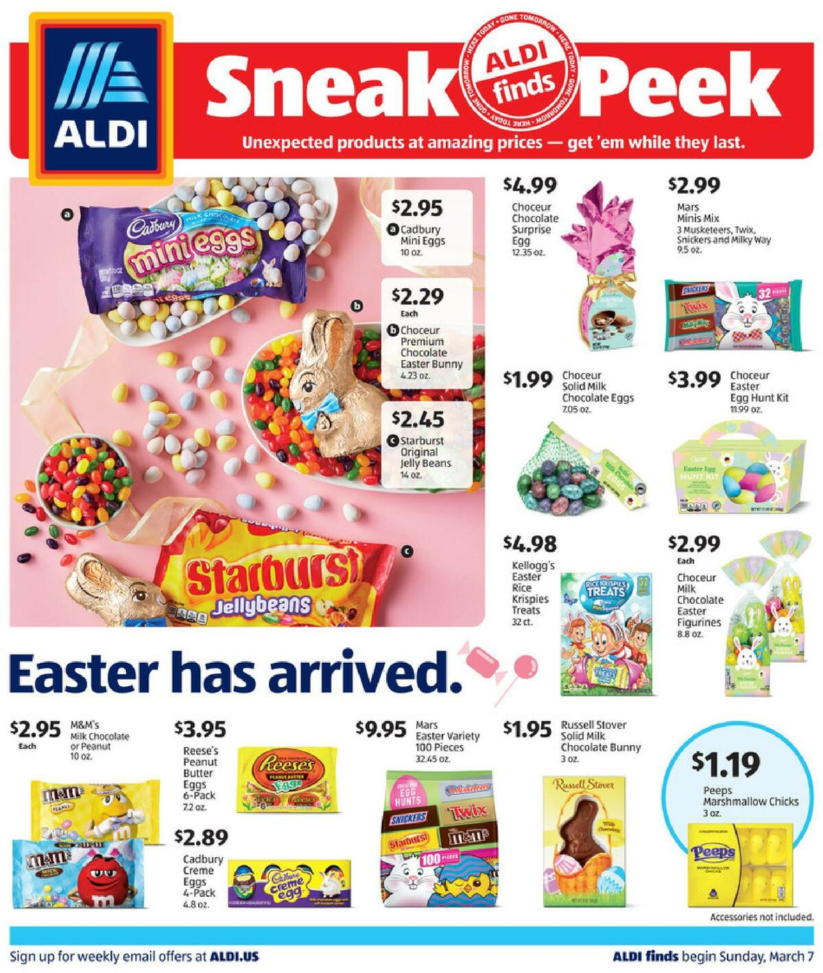 ALDI In Store Ad Weekly Ad from March 7