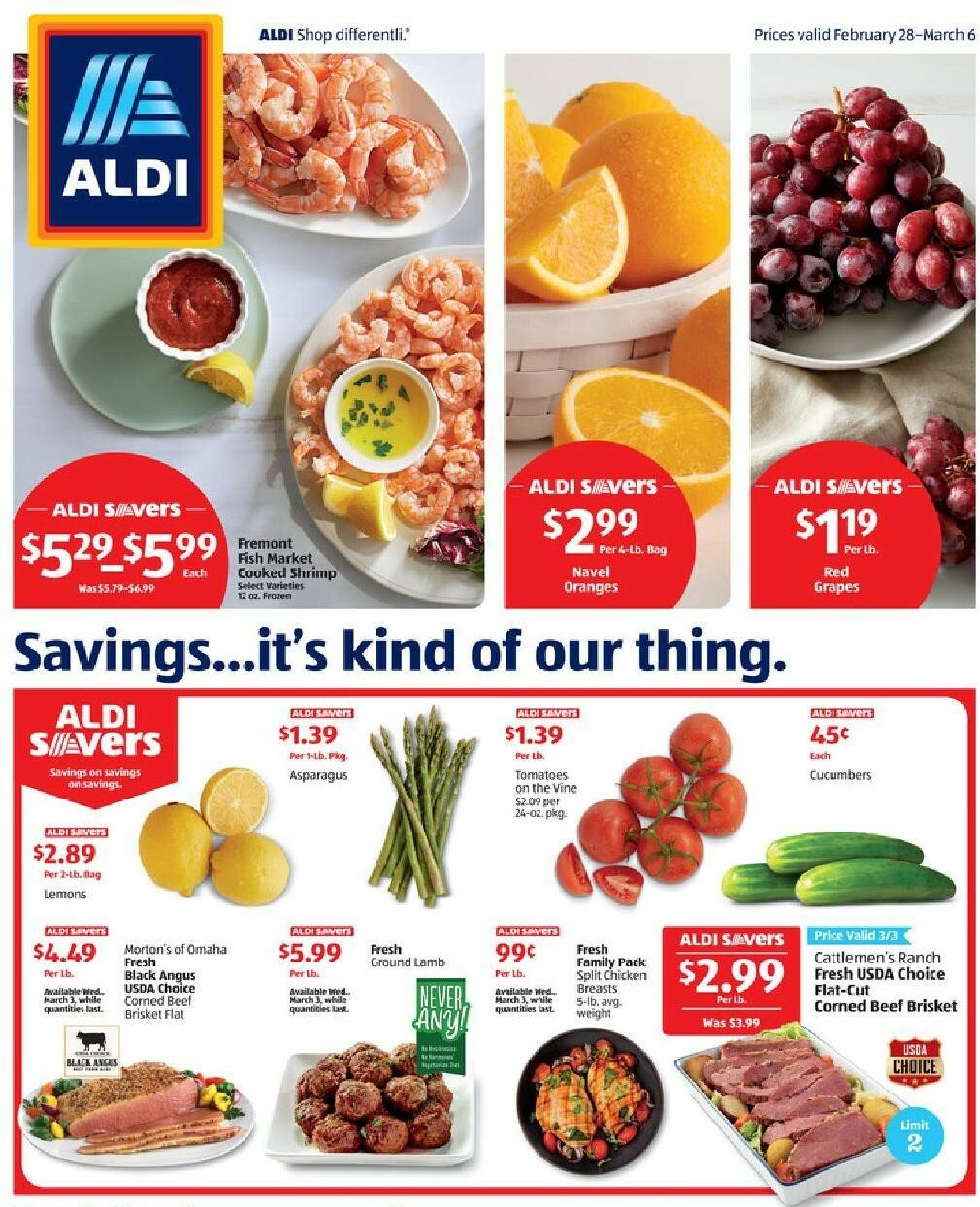 ALDI Weekly Ad from February 28