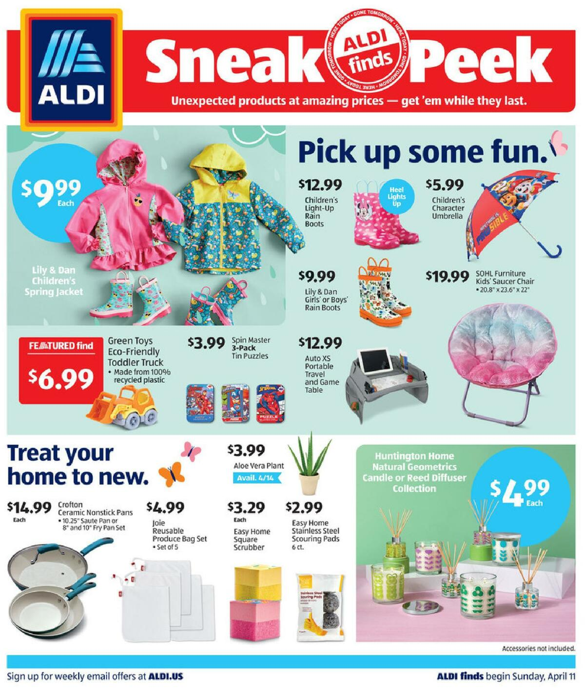ALDI In Store Ad Weekly Ad from April 11
